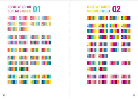 creative color schemes 2 ebook, Powerpoint templates