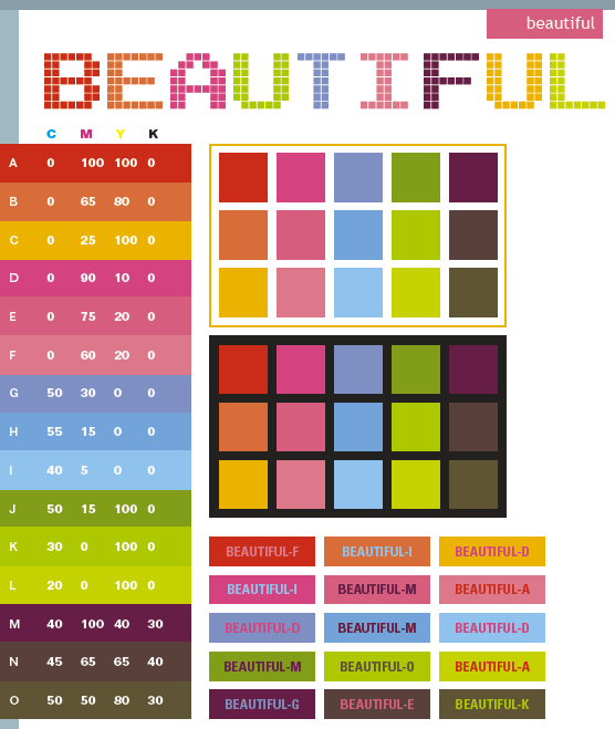 beautiful color schemes color combinations color palettes for print