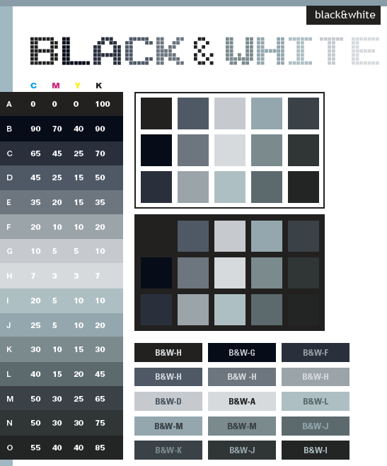 Html Gray Color Names