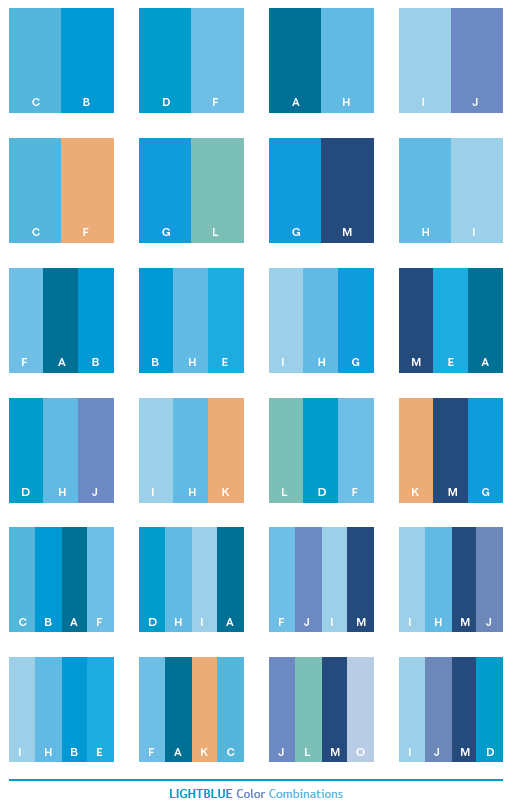 Light blue color schemes color combinations color - What colors compliment blue ...