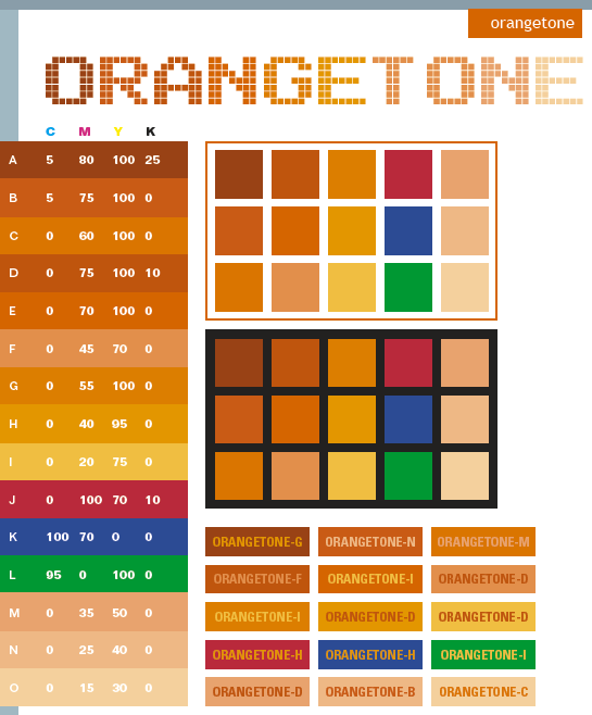 Orange Tone Color Schemes Color Combinations Color