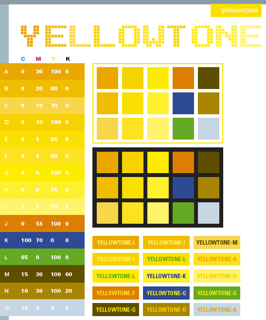 Yellow Tone Color Scheme