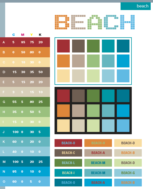 Beach Color Scheme