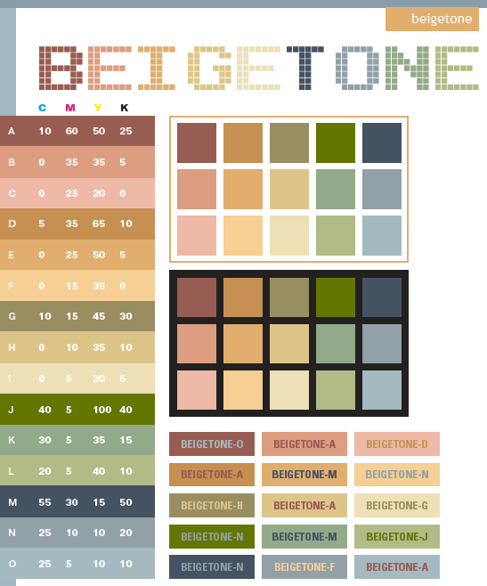 Beige Tone Color Scheme